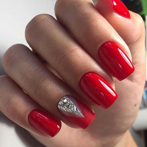 9 Red Hot Nails Just In Time For Valentine S Day Hashtagnailart Com