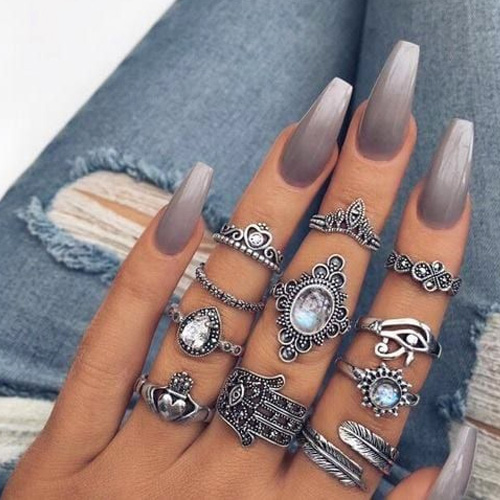 Best Acrylic Nails 54 Best Acrylic Nails For 2019 Hashtagnailartcom