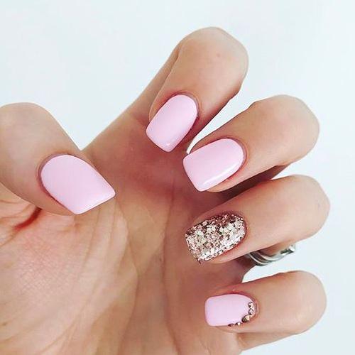 Best Pink Nails - 14 Best Pink Nails for 2019 - HashtagNailArt.com